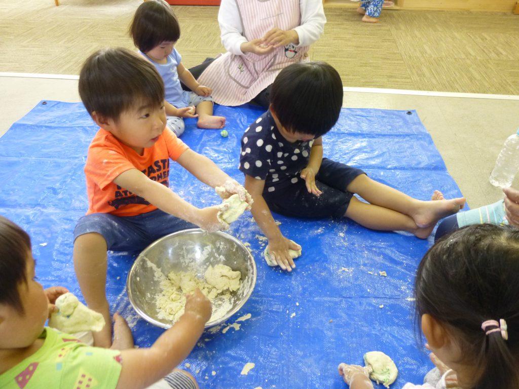 小麦粉粘土4